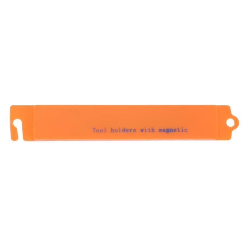 1pc Orange 15.5CM Wall Mount Magnetic Knife Scissor Tool Storage Holders Rack Storage Strip Organizer Utensil Kitchen Tool