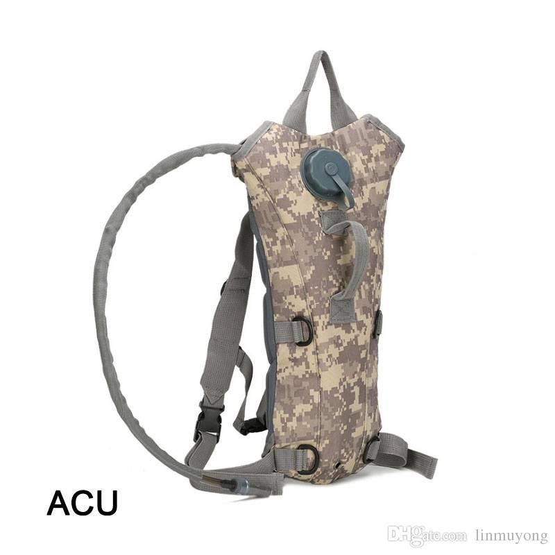 00afe5220 Compre OT009 3L Saco De Bexiga De Água Caminhadas Camping Hidratação Mochila  Camelbak Pacote 0.45 Kg De Linmuyong