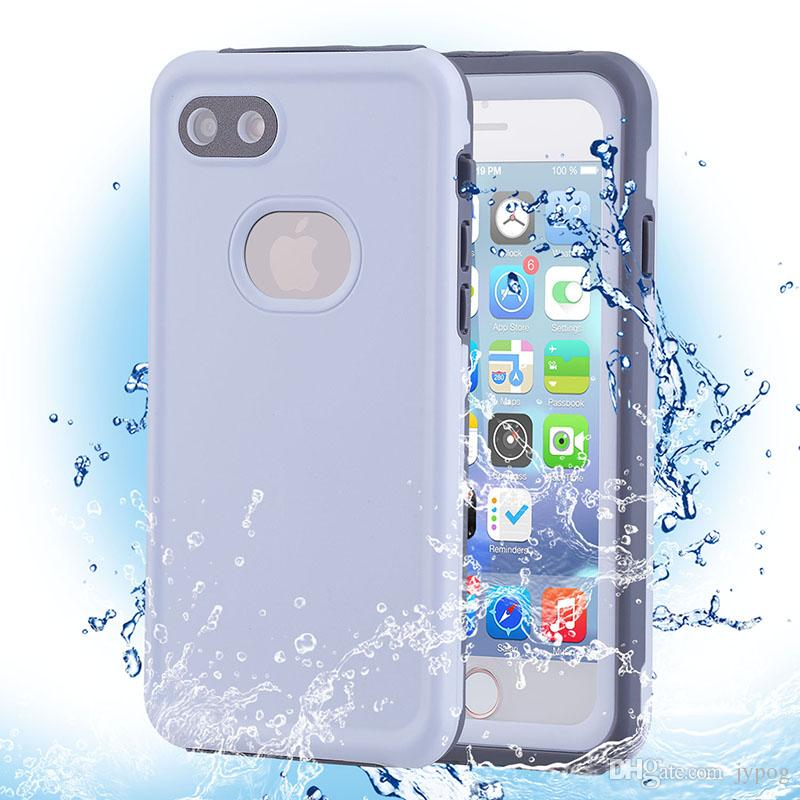 Waterproof Phone Case for iPhone XS Defender Case Under Water Full Sealed Cover Waterproof Shockproof Snowproof Case with Screen Protector