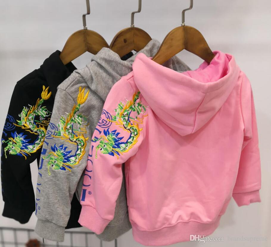 6e05006b 2019ss Winter designer Boys Girls apes Hoodies & Sweatshirt spring shark  Coat Outwear Baby Children Clothing kids jacket