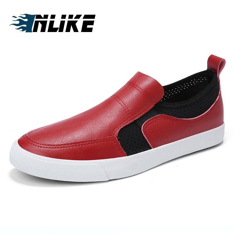 Inlike Brand Minimalist Design Leather Men Dress Shoes Hot Sell Mens