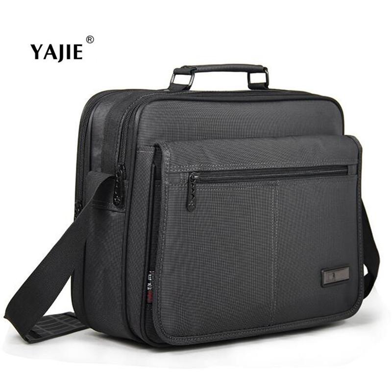 YAJIE New Hot 12-15 Inch Men Women Laptop Bag Multi-function Wear-resisting NotComputer Bag Business Men's Briefcase A689