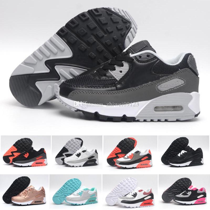 premium selection 64be2 3ece2 Compre Nike Air Max 90 Niños Zapatillas Presto 90 II Zapatillas Niños  Deportes Ortopédicos Juvenil Zapatillas Niños Niños Niñas Niños Zapatillas  es Talla 26 ...