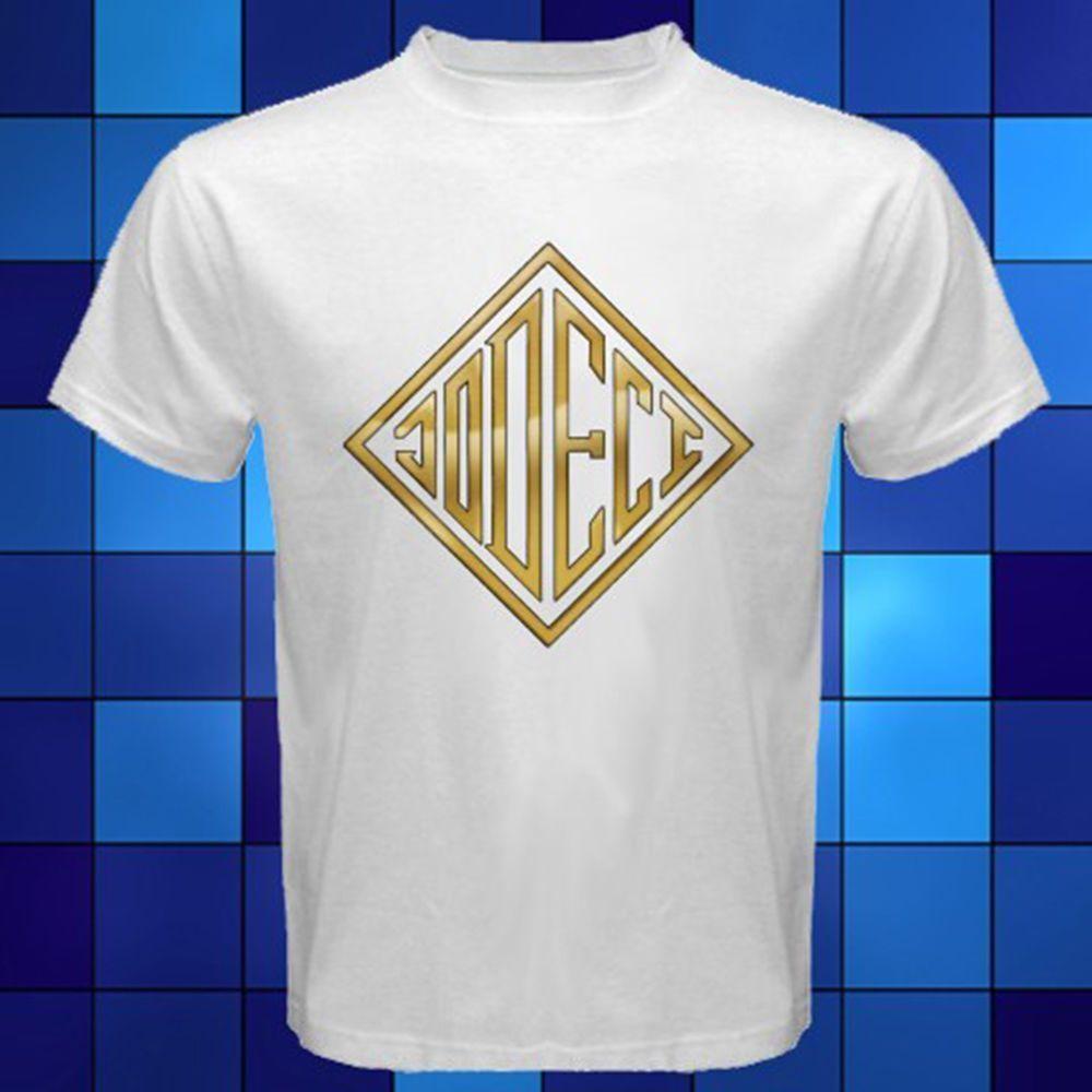 Jodeci Music Group Soul R&B Music White T-Shirt Mens 2018 fashion Brand T  Shirt O-Neck 100%cotton T-Shirt Tops Tee custom Environmental