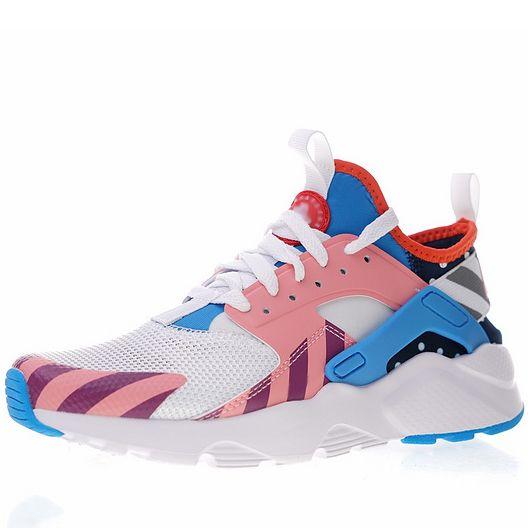 69c8bf318a39 New Parra Huarache Run Ultra 4 Mens Running Shoes Black White Brown ...
