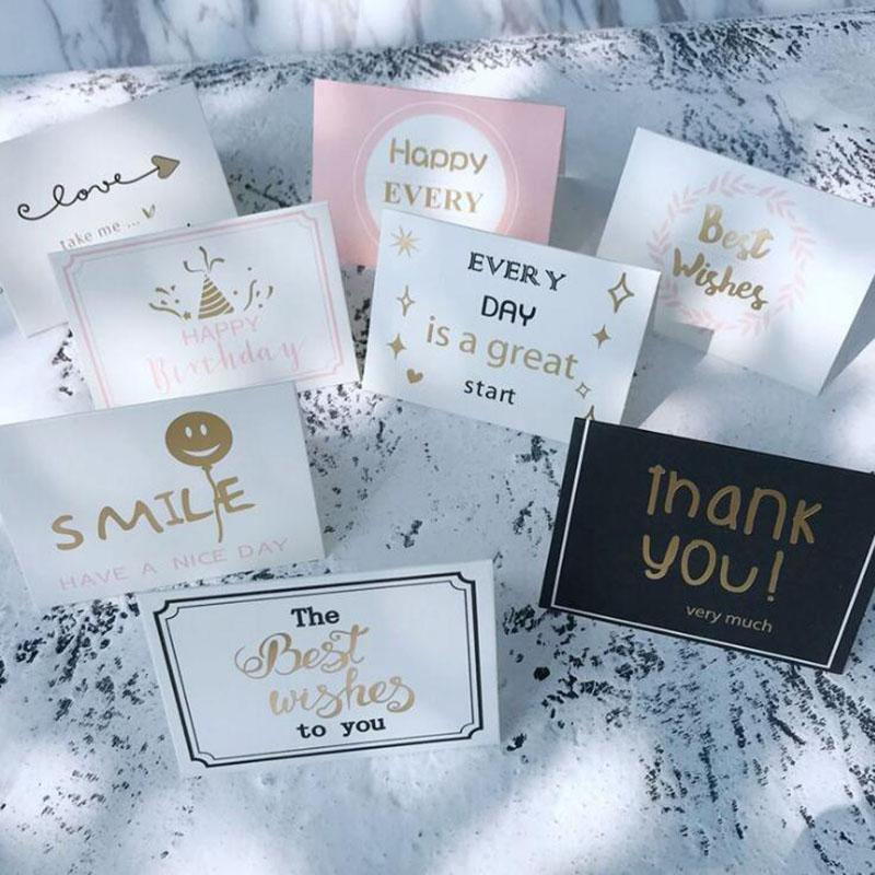 Business Greeting Cards Thanksgiving Card Decorations For Wedding Invitations Christmas Birthday With Envelope Kids