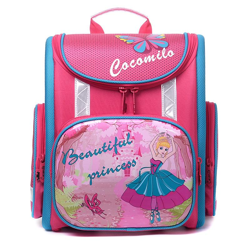 05c7e449fc 2018 Fashion Children School Bags Orthopedic Backpack Cute Bear Beautiful  Princess School Bag For Girls Primary Backpacks Laptop Backpack Beach Bags  From ...