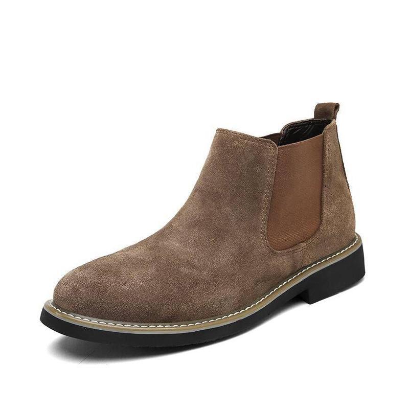 5633c170406d Acheter Bottes Pour Hommes Britannique Style Mode Bottes Chaudes ...
