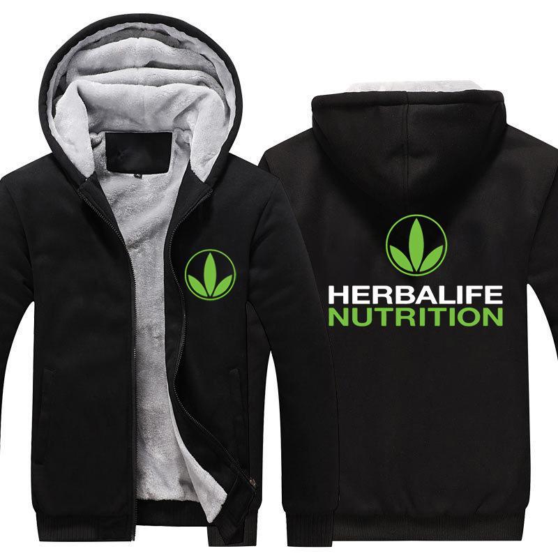 Acheter Herbalife Nutrition Imprimé Épaissir Hoodie Hommes Femmes ... 0f5d83e4c45