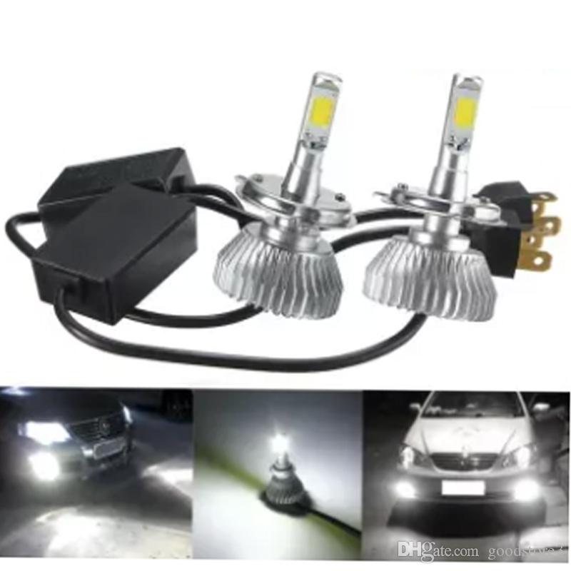 2019 200w 20000lm Factory Price Led Car Headlight Lamp Bulb Hid