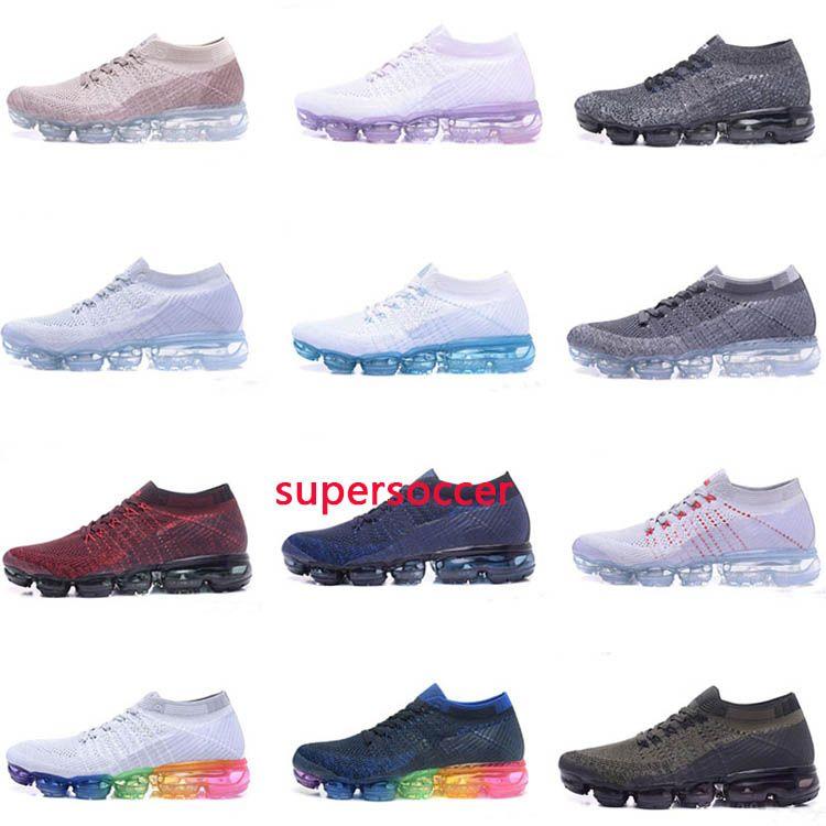 Vapor Running Shoes Men Women Classic Outdoor Run Shoe Vapor Black White  Sport Shock Jogging Walking Hiking Sports Athletic Sneakers Vapor Sneakers  ...