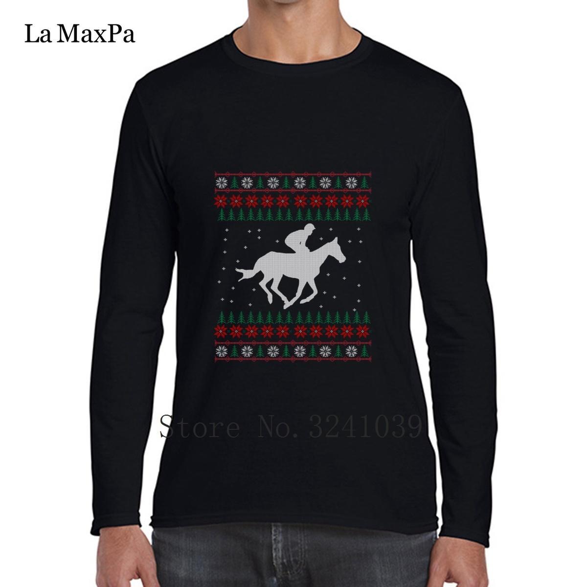 Großhandel La Maxpa Horse Hässliche Weihnachtsgeschenk Männer T ...