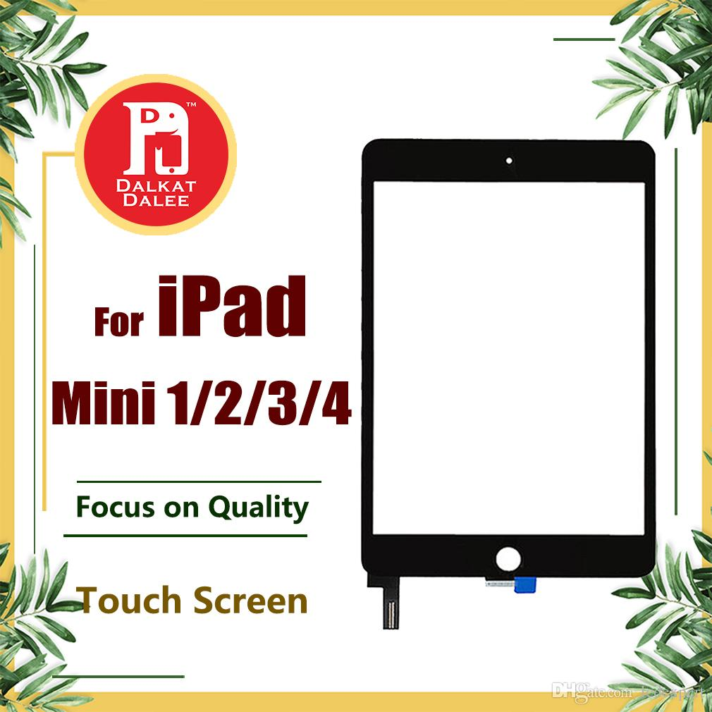 Touch Screen per iPad Mini 1 2 3 4 Digitizer LCD Vetro di ricambio per Apple iPad Mini 1 2 3 4 Nero Bianco