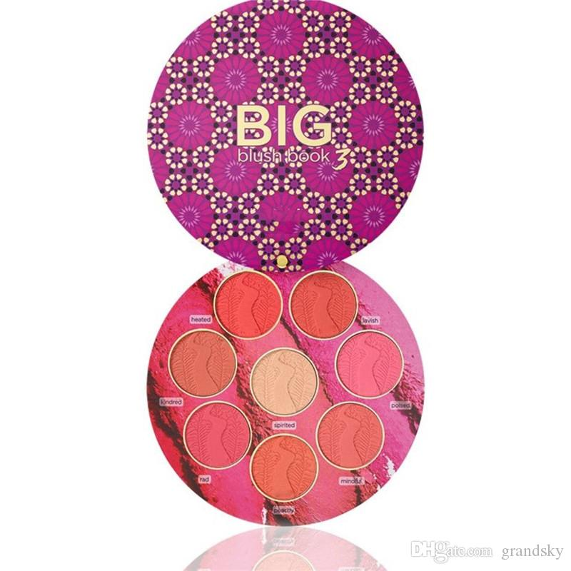 High Quality Makeup BIG Blush BOOK 3 Hot Blush Palette Blushes & Highlighter Limited Edition Cosmetica Covermark From Grandsky, $3.15| DHgate.Com