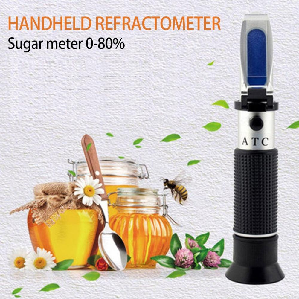 a52ab471795 2019 Dropshipping 0 80% Brix Honey Handheld Highly Accurate Measurement  Portable Honey Refractometer Beekeeping Sugar Meter Equipment From  Kingflower