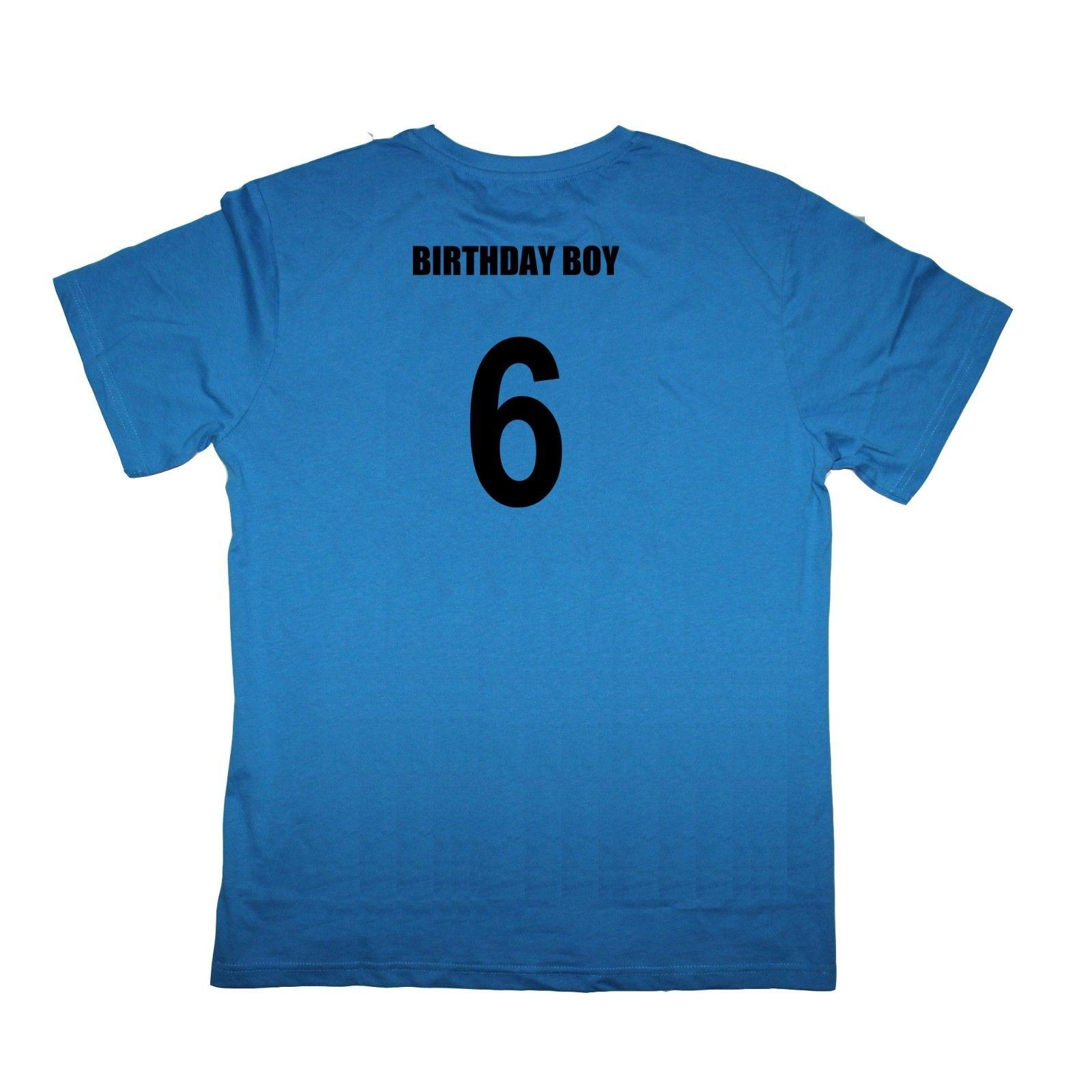 8d59e701 Birthday Boy 6th Sixth Birthday Six 6 Year Old Male Baby Shirt Many Colours  Casual Shirts T Shirts With From Rutmerch, $11.01| DHgate.Com