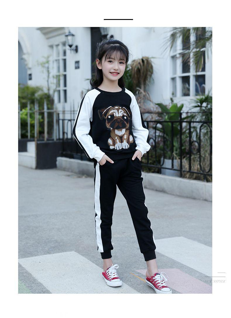 6d26cf288cc1 High Quality Girl New Style Autumn Suit Children S Cotton Long ...
