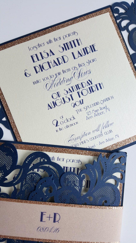 Acheter Invitations De Mariage De Luxe Invitation De Soiree Decoupee