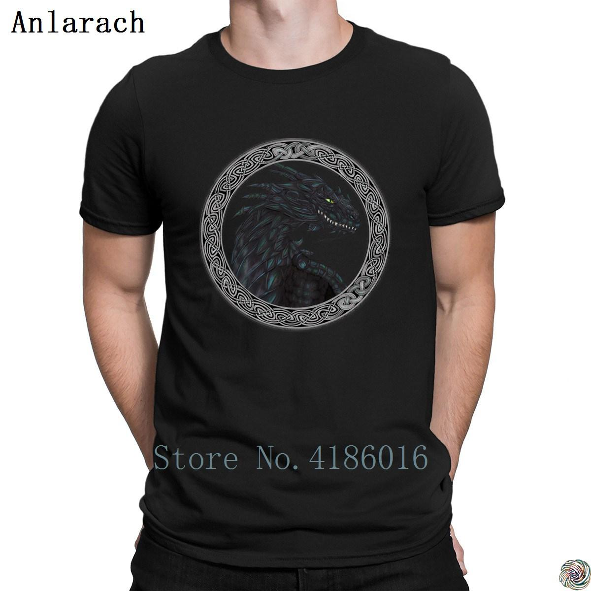 91bc586d The Circle Of The Black Dragon Tshirts Spring Autumn Clothes Hip Hop Design  Men'S Tshirt Famous Cotton Latest Unique Awesome T Shirts Online A T Shirts  From ...
