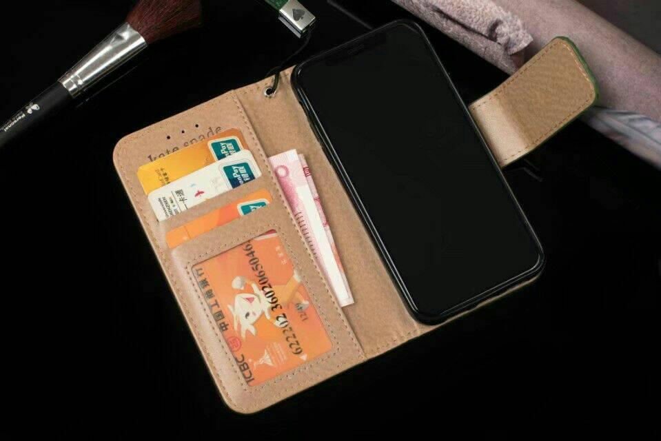 Full Protective Brand Leather Wallet Phone Case Cases With Card Slot For Samsung IPhone X 8 7 6 Plus Cover Stand High Quality