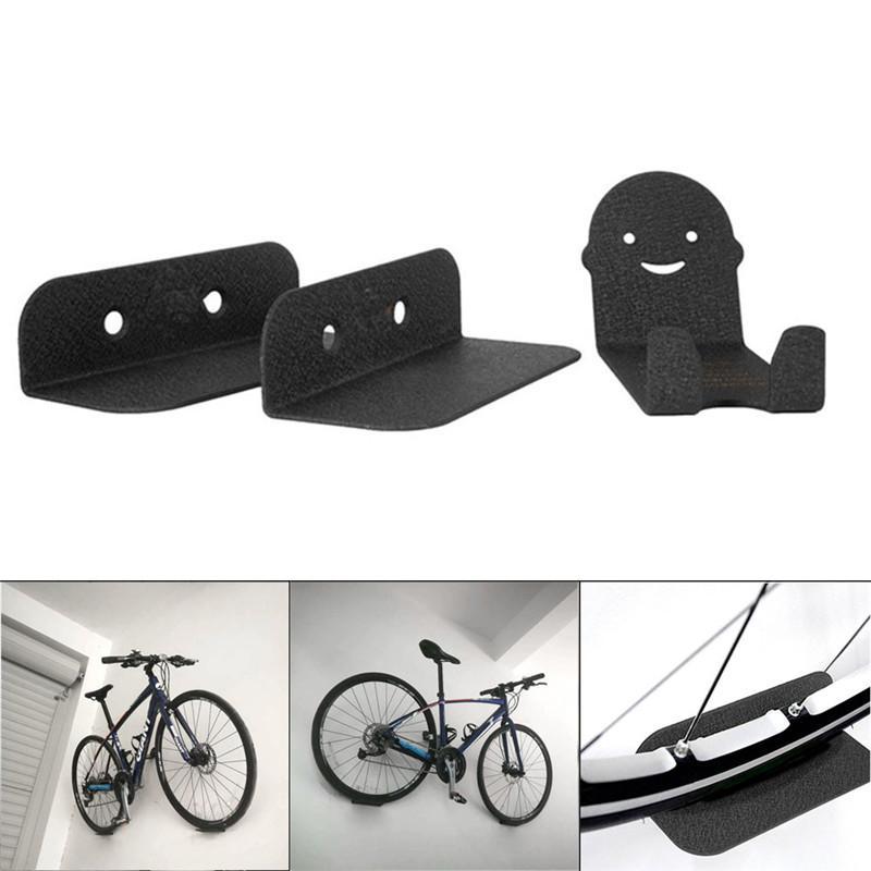 152fae516 Compre 3 Piezas De Soportes De Bicicleta Montados En La Pared Soporte De  Acero Ciclismo Pedal Neumático Almacenamiento Almacenamiento Rack ALS88 A   44.04 ...