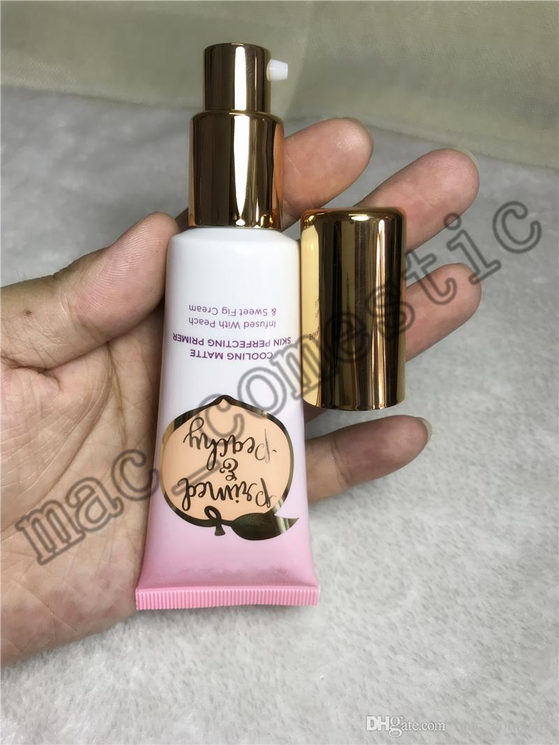New Primed Peachy Cooling Matte Skin Perfecting Primer Primed Infused with Peach & Sweet Fig Cream 40ml 1.35Fl to face fast shipping