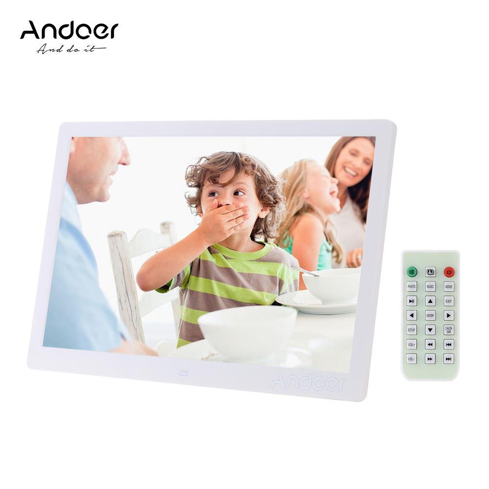 2018 Andoer 15.6 Led Digital Photo Frame 1280*800 Advertising ...