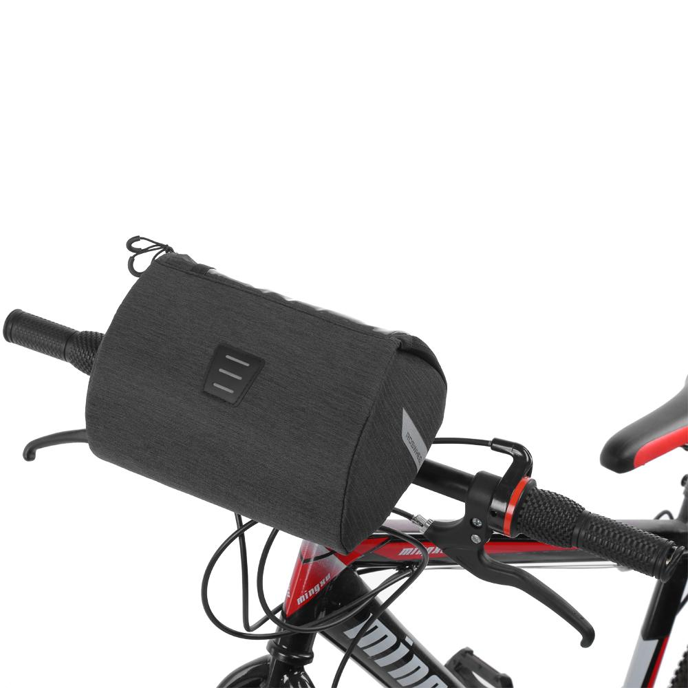 ROSWHEEL 3L Bicycle Bags Cycling Frame Front Tube MTB Road Bike Case ...