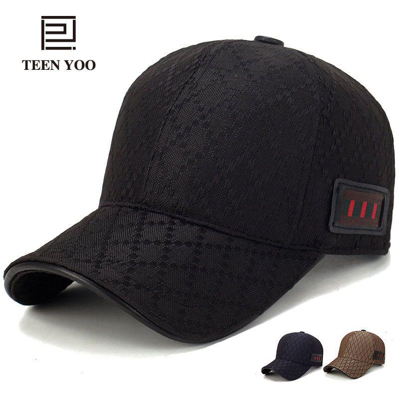 d27c3a4462e Branded Baseball Cap 2018 New Fashion Lattice Cotton Snapback Caps For Men  And Women Casual Sport Sunhat Dad Hats Hip Hop Mujer D18110601 Baseball Caps  ...