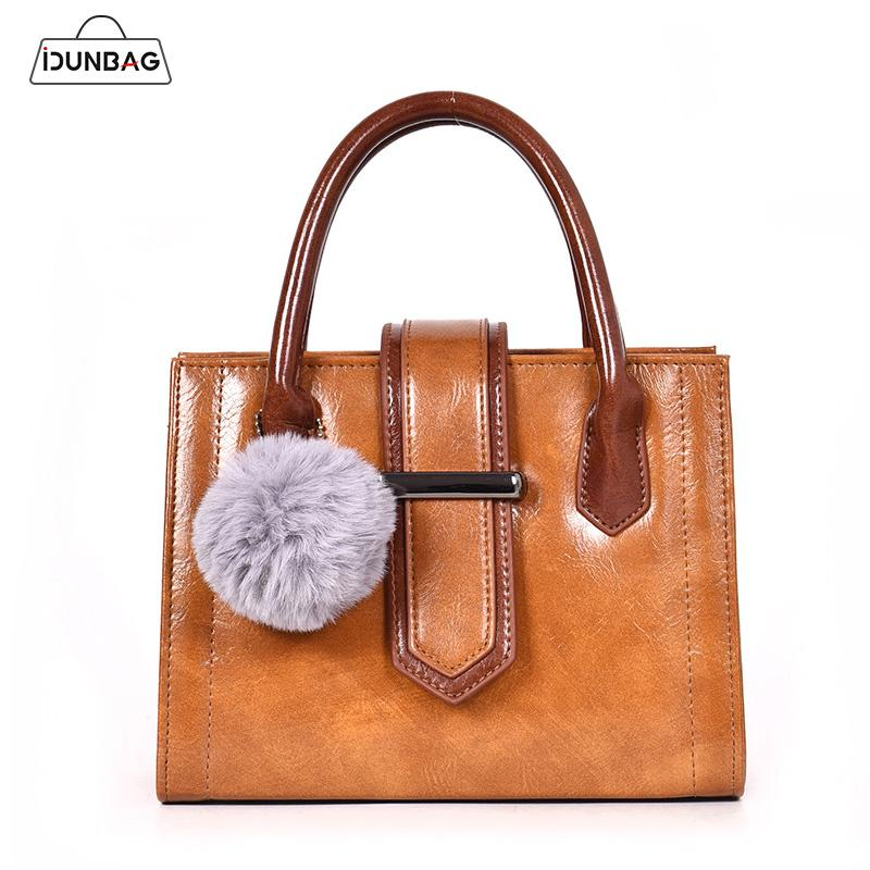 4c4f3ce1d276 Autumn Winter Women Bag Handbag Large Capacity Casual Tote Shoulder Bag PU  Leather Big Messenger Bags With Fur Ball Bolsas Femme Wholesale Handbags  Cheap ...