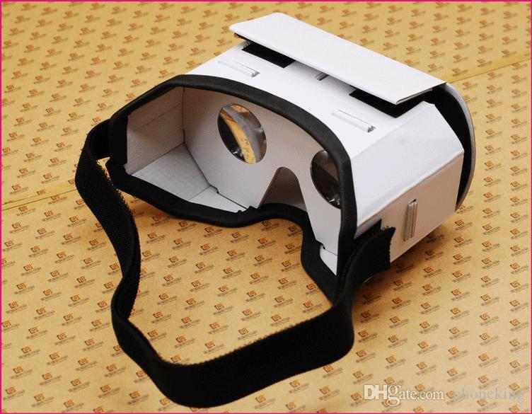 Buy Cheap Light Castle Google Cardboard Style Virtual Reality Vr Box Ii Glasses For 3.5-6.0 Inch Smartphone Glass For Iphone For Samsung Vr/ar Devices