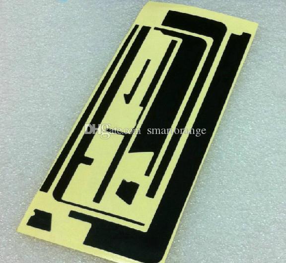 Livraison gratuite / noir 3M autocollant adhésif pour Ipad 2 numériseur d'écran tactile
