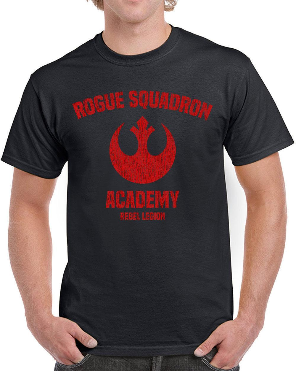 574763891b7d 618 Rogue Squadron Academy Mens T Shirt Star Geek Nerd Wars Jedi Cosplay  Costume Buy Cool Shirts Ordering T Shirts From Amesion, $11.45| DHgate.Com