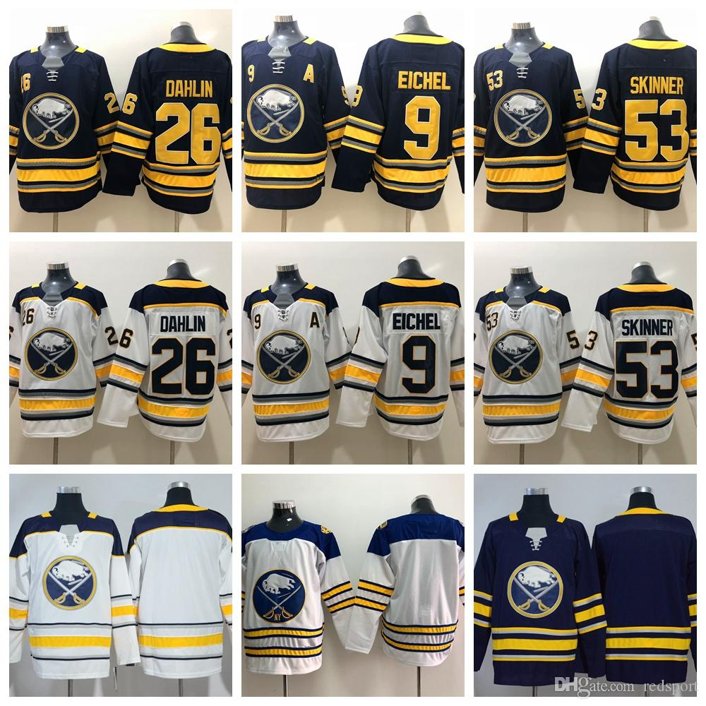 2018 Winter Classic Buffalo Sabres Hockey Jerseys 9 Jack Eichel 26 ... bcab61d4b