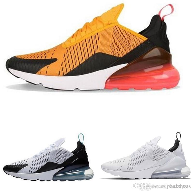 sports shoes 7ffb2 b7e0a Nike Air Max Off White Adidas Yeezy 270 Zapatos 2018 De Calidad Superior  Para Hombre Blanco Negro Triple Negro AH8050 Trainer Sports Running Shoes  Para ...