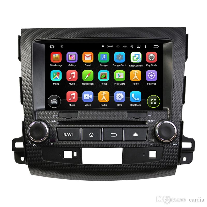 Car DVD player for MITSUBISHI Outlander 2006-2012 8Inch 8-core 2GB RAM Andriod 6.0 with GPS,Bluetooth, Radio
