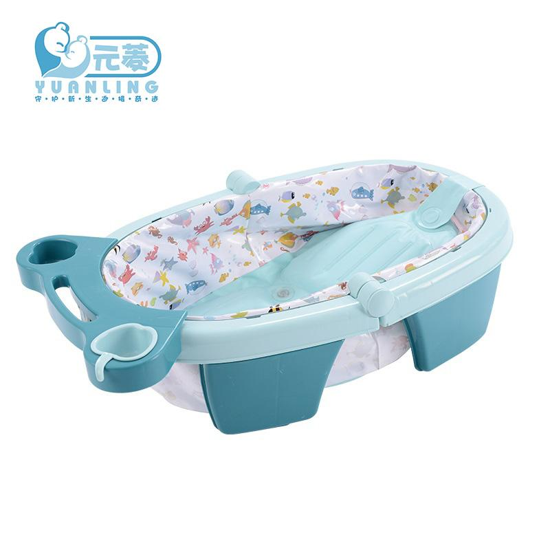 Flora Baby Collapsible Tub Baby Bath Child Tub Inflatable Bath ...