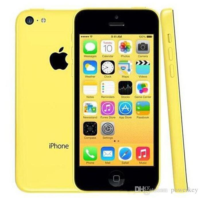 "Original Refurbished Unlocked Apple iPhone 5C Cell phones 16GB 32GB dual core WCDMA+WiFi+GPS 8MP Camera 4.0"" Smartphone"