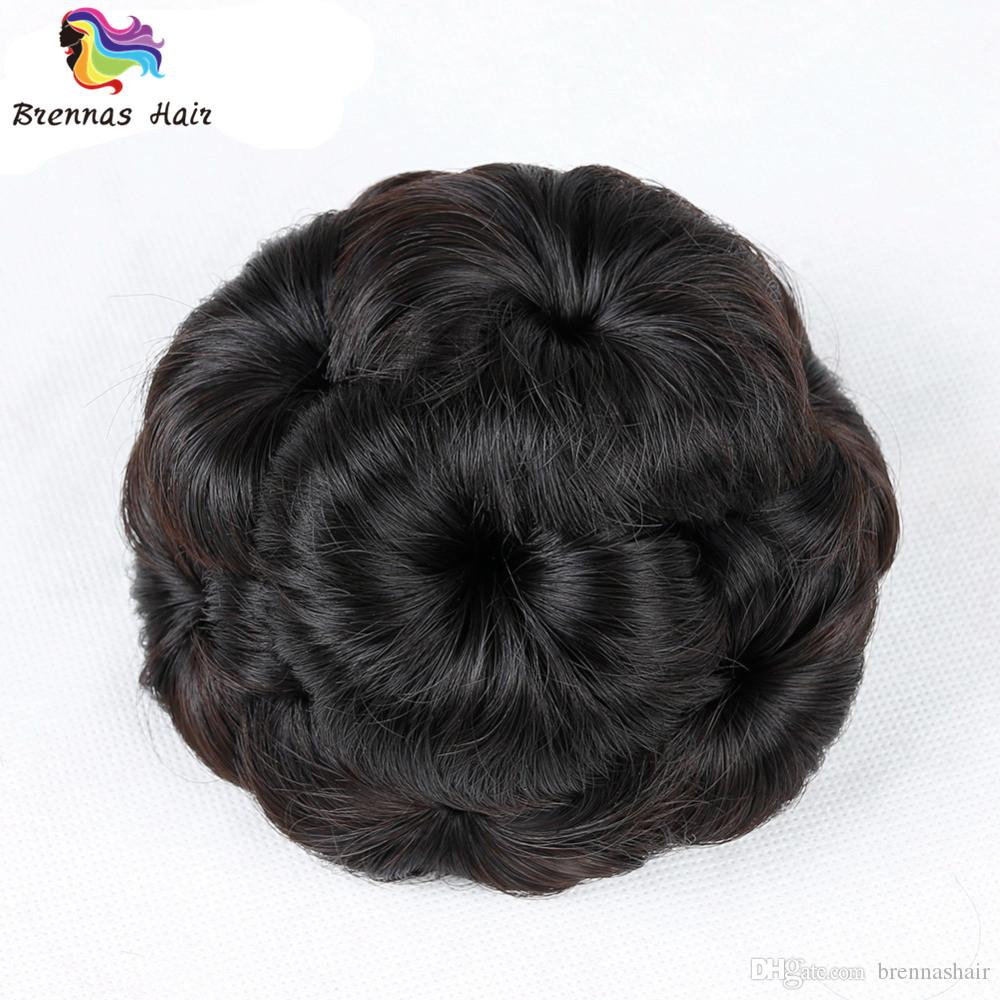 New Women's Elastic Net Chignon With Plactic Comb High Temperature Synthetic Fiber Hair Clip In Elastic Fake Hair Extension USA UK