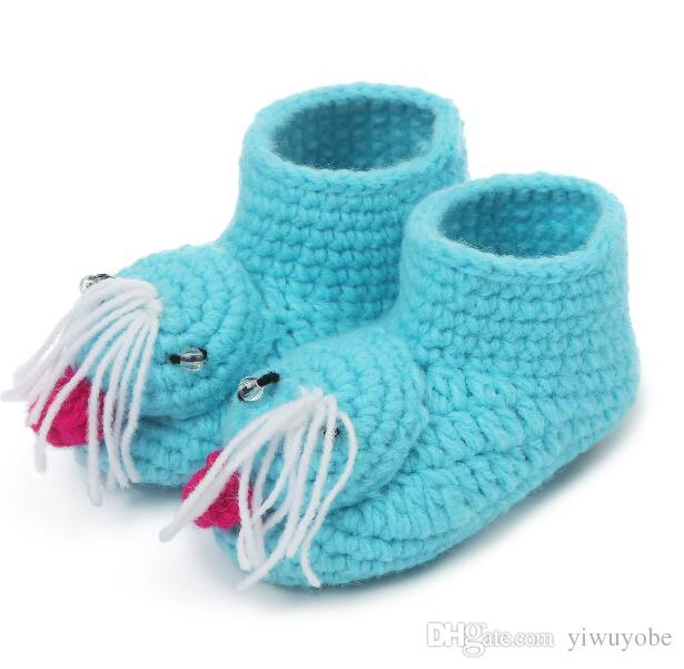new pattern handmade unisex baby shoes socks infant boy girls cheap shoes non slip soft sole baby first walkers