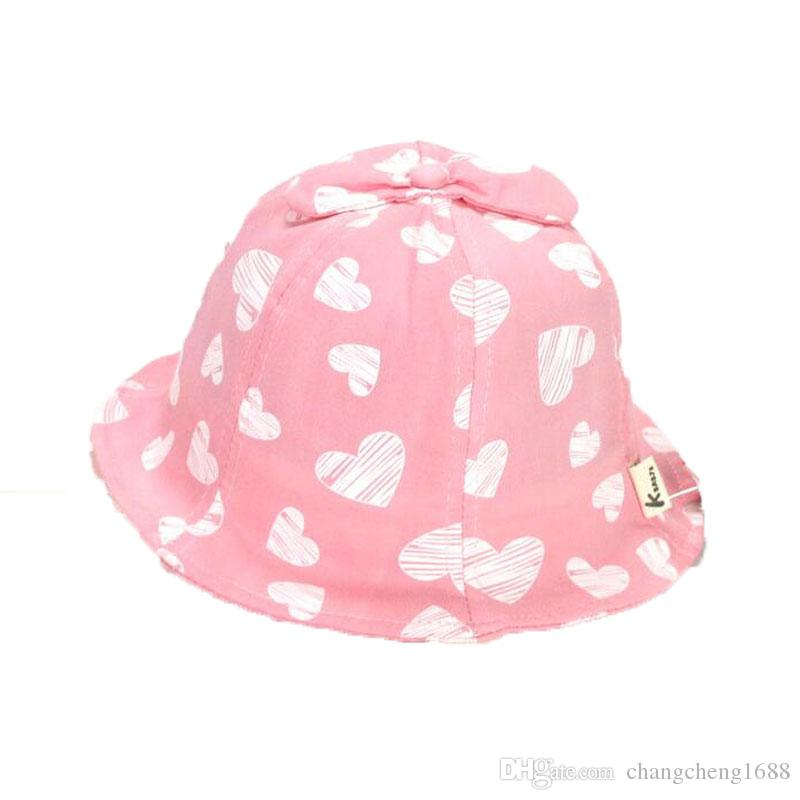 fa41fe45d51c Child Bucket Hat Print Cotton Unisex Fisherman Cap Outdoor MZ6018 ...