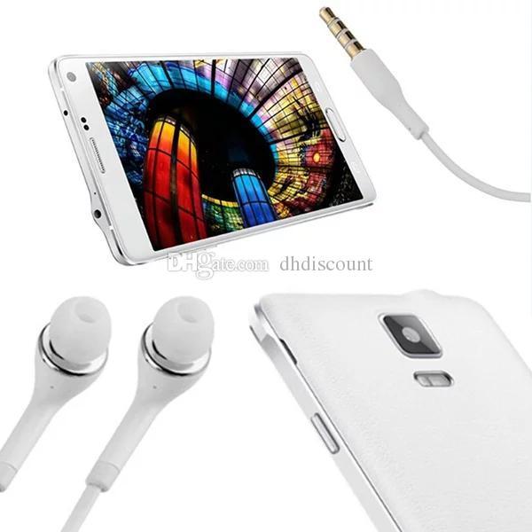 Наушники J5 Наушники-вкладыши-стерео Наушники 3,5 мм с микрофоном Пульт дистанционного управления громкостью Наушники-гарнитуры для Samsung Galaxy S3 S4 S5 Note 2 4