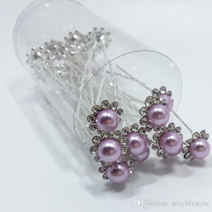 / Set Mariée Cheveux Broches Perles Strass De Mariage De Mariée Fleur Épingles à cheveux Clip Grips Femmes Dames Filles Cheveux Accessoires