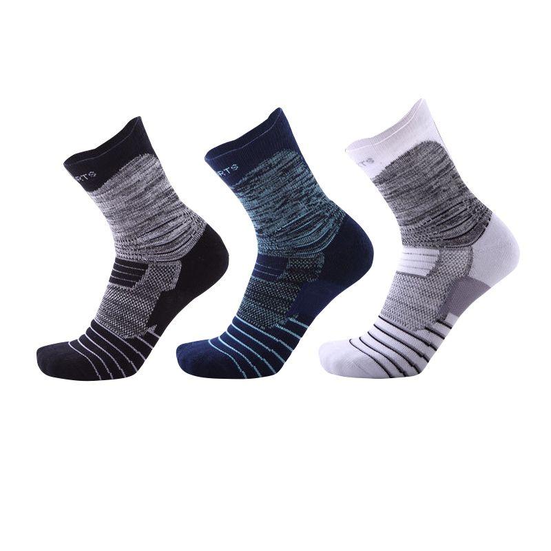e2aa2192eee1a 2018 Elite basketball socks male thickened Towel bottom absorbent cotton  sweat anti-skid deodorant sports socks Men football cycling sock