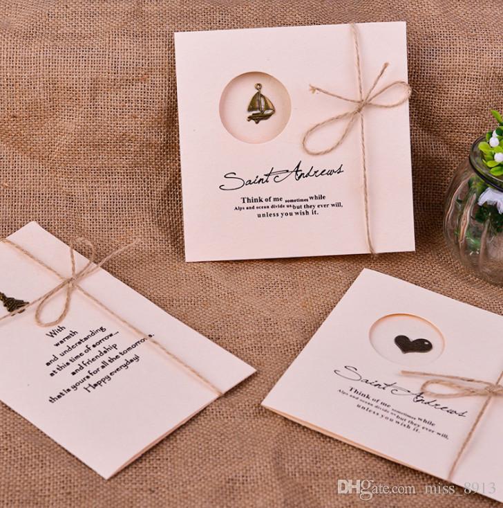20pcs Lot Retro Mini Merci Cartes Avec Enveloppe Pour Fête D Anniversaire De Mariage Diy Cadeau Cartes De Voeux Invitation
