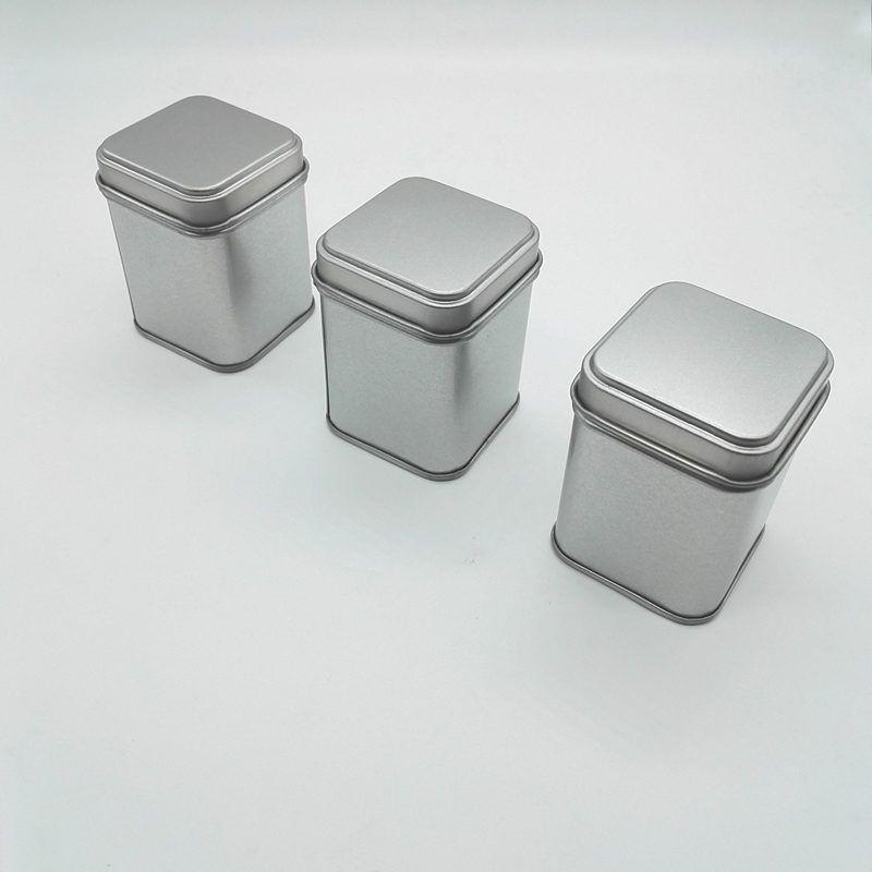 50g Dose Metalldosen Vorratsflaschen Gläser Metalldosen Teedose Mini Candy kleine versiegelte Kanister tragbare Reise Teedose F20173085
