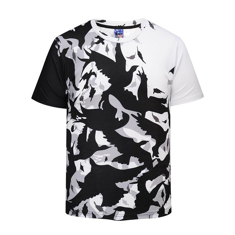 b9745af5bbaa Summer 3D Printed T Shirt Men S Short Sleeve Tshirt Creative Shadow Birds T  Shirt M 3XL Plus Size Tops   Tees BL 403 Joke T Shirt Coolest Tee Shirts  From ...