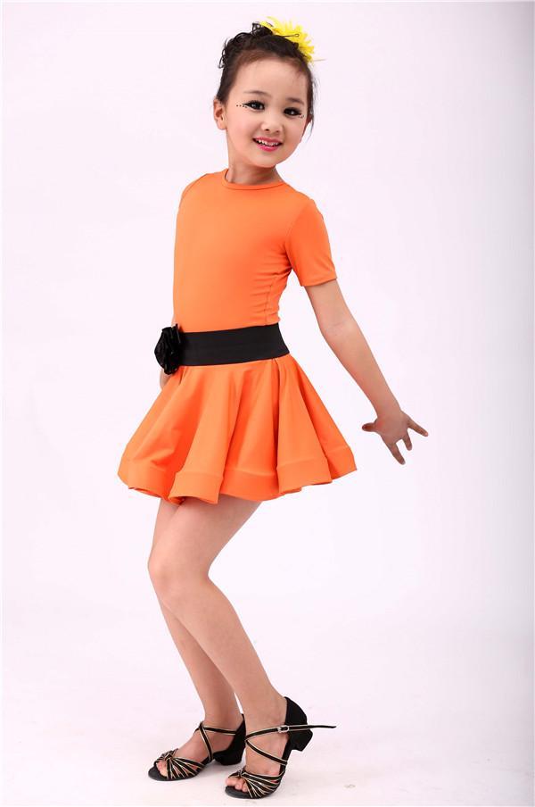 ee7ab7553 Compre Niño Niño Niños Vestido Profesional De Baile Latino Para Niñas  Modern Girl Latin Dance Vestido Para Niñas Salsa Tango Falda Salón De Baile  A  30.89 ...