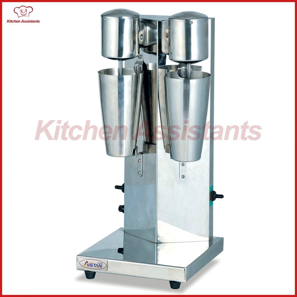 MS2 Electric Dough Head Coffee Milk Shaker Machine with Two Bottle ...