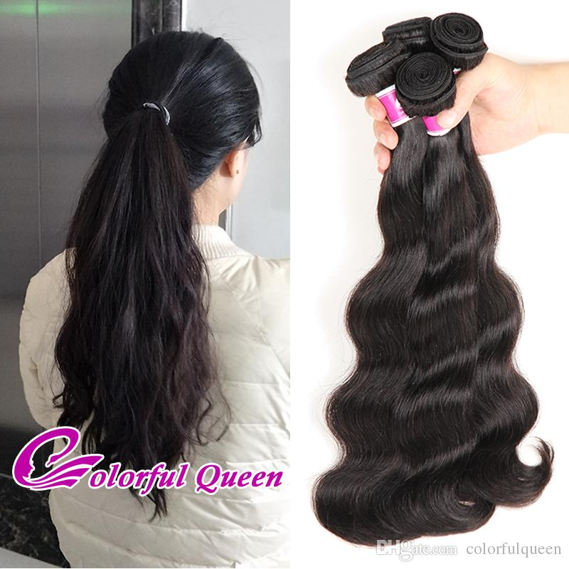 Wholesale Virgin Human Hair Extensions 1kg Brazilian Virgin Hair